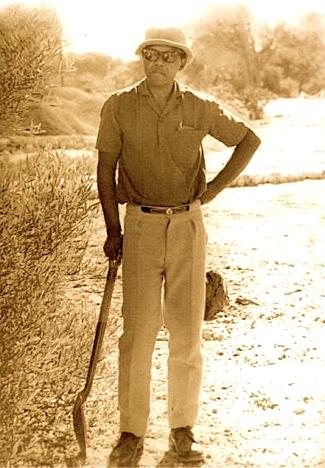 Nelson Mandela, gardener